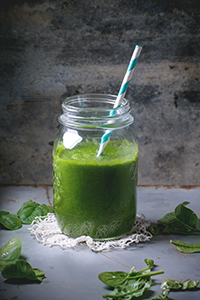 gember groene sap